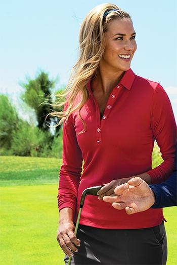 6277f1b462247 Nike Golf Ladies Long Sleeve Dri-FIT Stretch Tech Polo. 545322