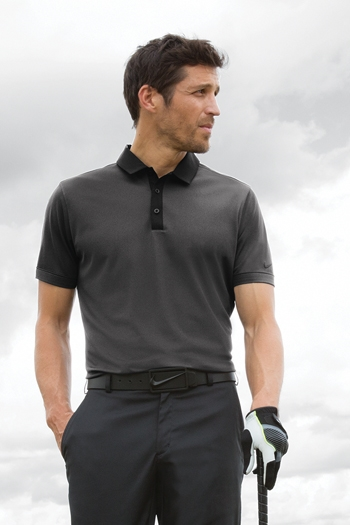753ad4aa6bf5 Nike Golf - Dri-FIT Heather Pique Modern Fit Polo. 779798