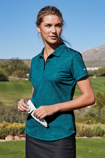 c9416fb4e567e Nike Golf - Ladies Dri-FIT Crosshatch Polo. 838961