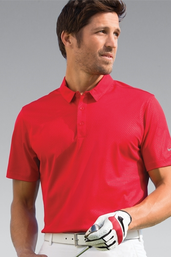 e63642fd Nike Golf - Dri-FIT Embossed Tri-Blade Polo. 838964
