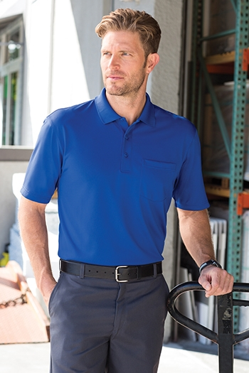 cc56628f CornerStone Select Snag-Proof Pocket Polo. CS412P · Larger Photo Email A  Friend