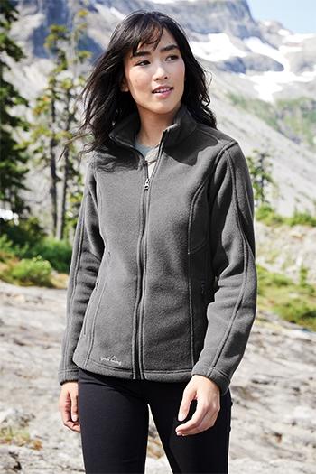a3e27c683fb Eddie Bauer - Ladies Full-Zip Fleece Jacket. EB201