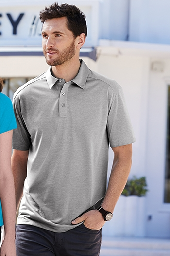 Port Authority Womens Digi Heather Performance Polo