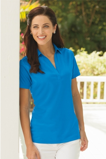 Port Authority Ladies Silk Touch Performance Polo 3XL Navy