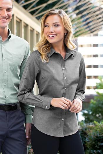 1ce03fede8f Port Authority - Ladies SuperPro Oxford Shirt. L658 · Larger Photo Email A  Friend