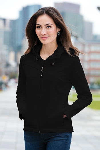 Port Authority Ladies Textured Soft Shell Jacket