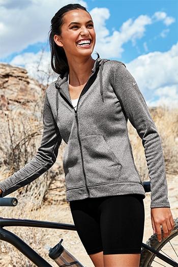 41731de25929 Nike Golf - Ladies Therma-FIT Full-Zip Fleece Hoodie. NKAH6264